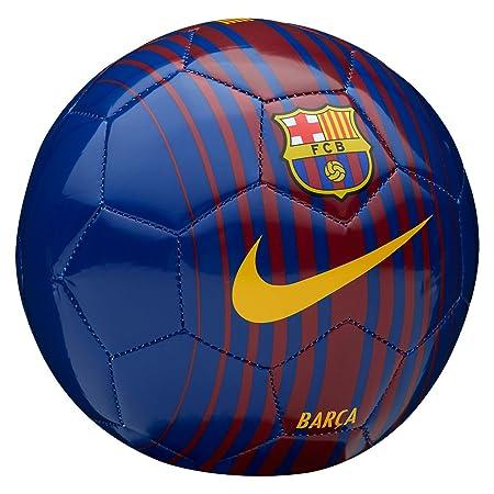 Nike FCB NK SKLS Balón de Mini Fútbol, Unisex Adulto, Azul / (Deep ...