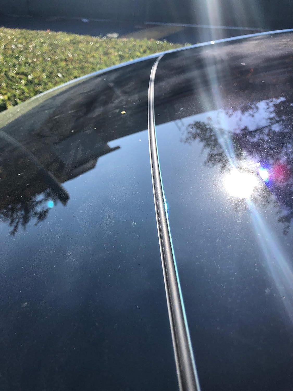 AY Customs Tesla Modell 3 Windschutzscheibe /& Dach Windschutz L/ärmd/ämpfung Reduktion Kit leise Dichtung Version 2