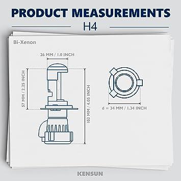 Amazon.com: Kensun Xenon HID Replacement Bulbs