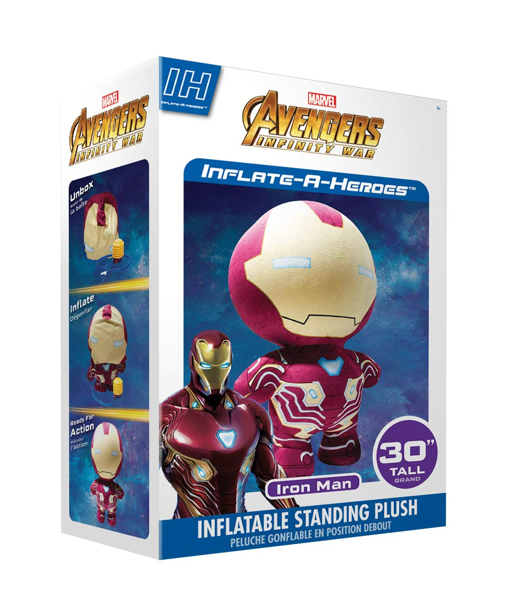 TheQwirkyShop Inflar un héroe Marvel Avengers Ironman 30 ...