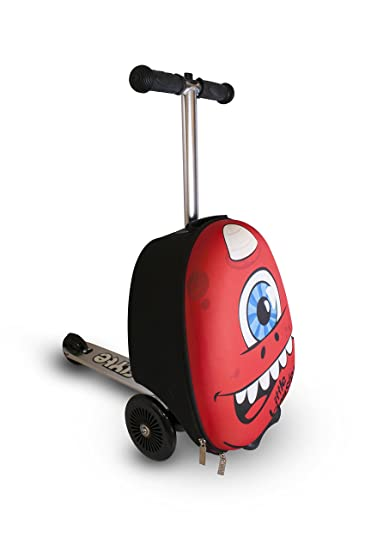 Amazon.com: Zinc Flyte Kids Luggage Scooter 15