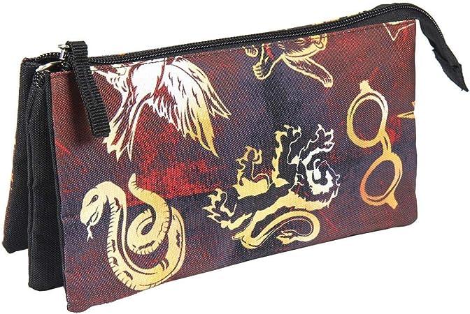 Mochilas, bolsos y papeleria harry potter Estuche Plano Escolar Triple de Harry Potter-Licencia Oficial Warner Bros Studios (ARTESANÍA CERDÁ SL 8427934431434): Amazon.es: Juguetes y juegos