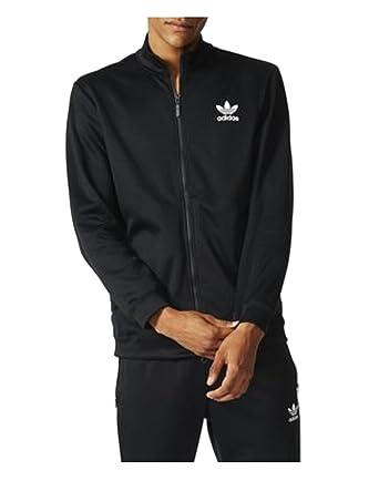 Adidas black track jacket amazon