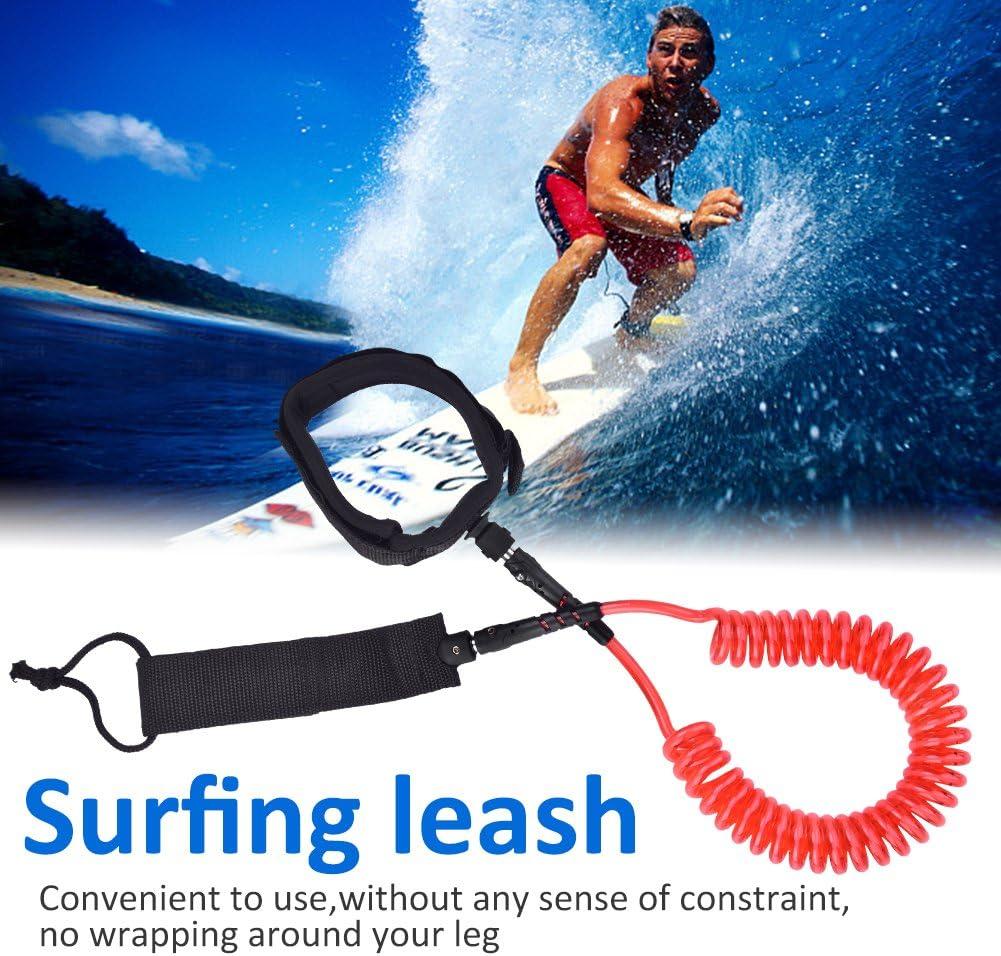 Alomejor Surfleine TPU Premium Surfboard Leash Bein Rope Paddle Board Leash F/ür Outdoor-Sportarten Surfen