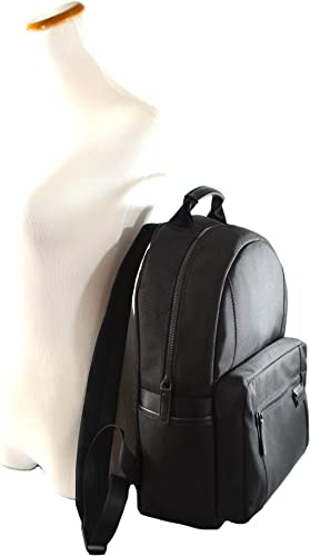 Michael Kors Travis Large Canvas Backpack Black