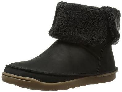 b3ead8a81b57 Clarks Damen Nettle Leaf Kurzschaft Stiefel, Schwarz (Black Leather), 35.5  EU