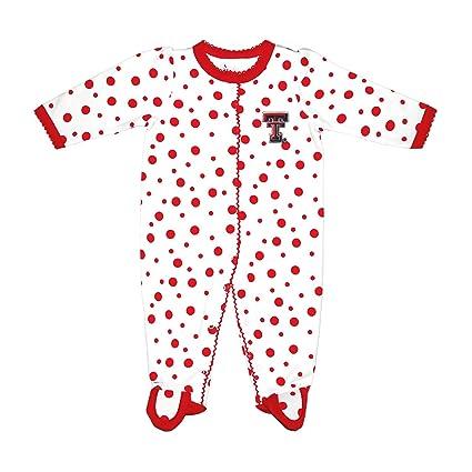 5919e2520 Amazon.com   Two Feet Ahead NCAA Texas Tech Red Raiders Infant Polka ...