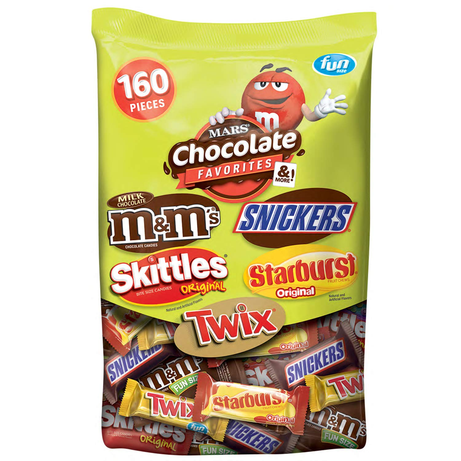 MARS Chocolate and More, Candy Variety Mix 72.83-Ounce Stand-up Bag