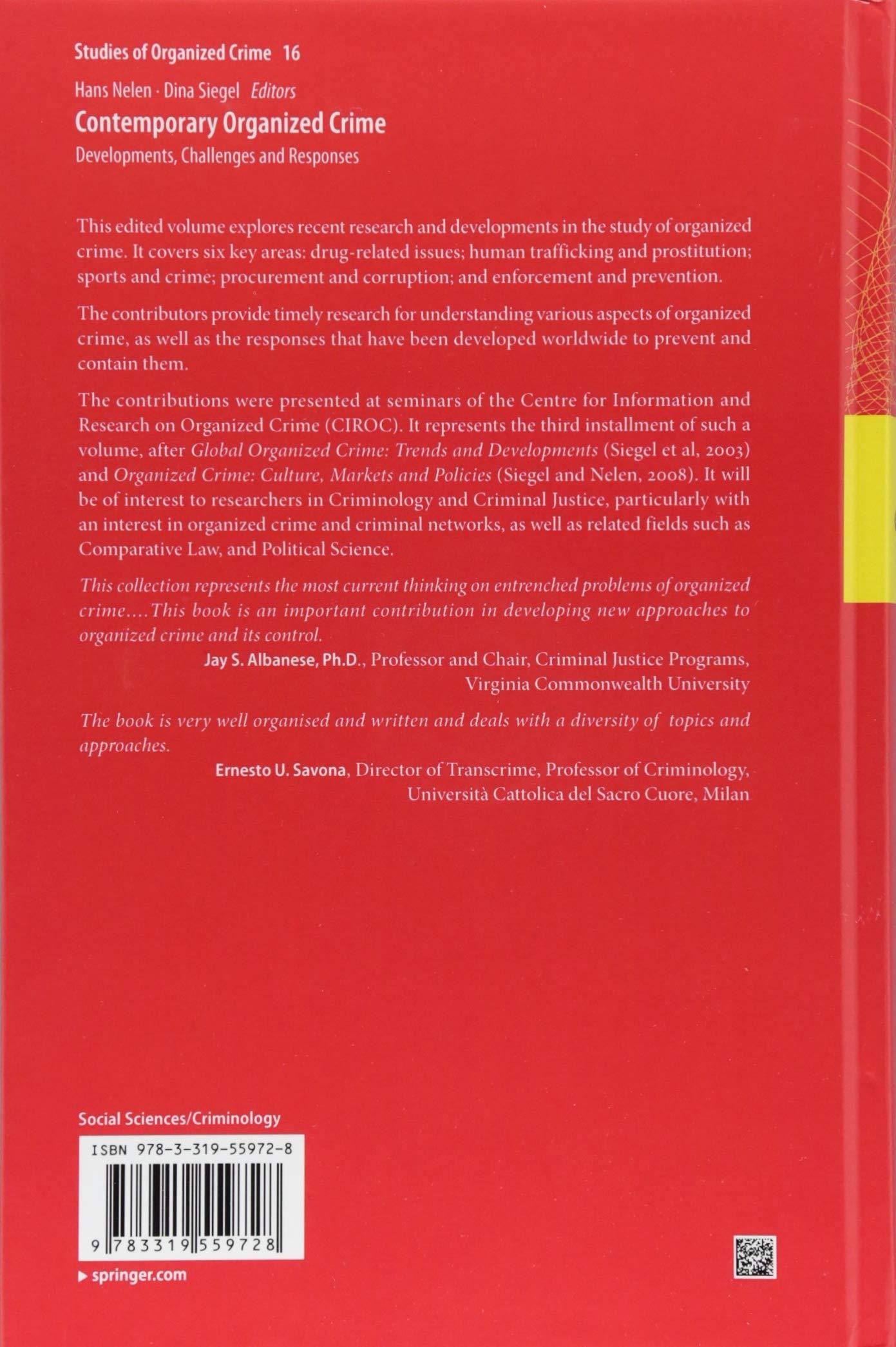 organized crime research topics