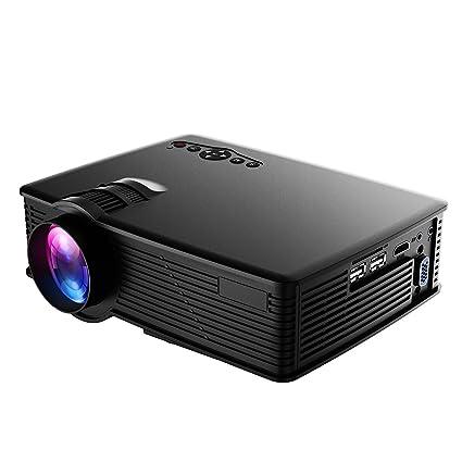 HoLife Proyector del LCD 1080P / VGA / SD / HDMI / USB para ...