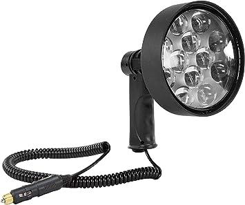 Amazon Com 10 Million Candlepower Led Spotlight 36 Watt Pistol Grip 1600 Foot Beam 3200 Lumens Automotive