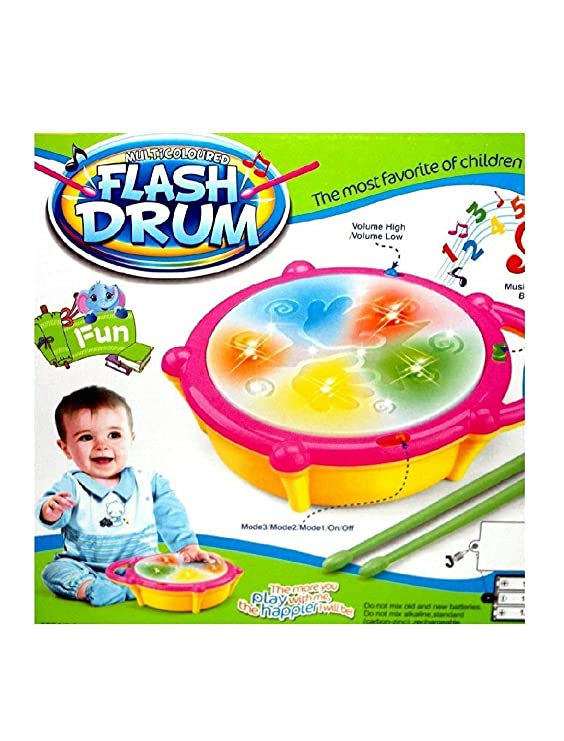 Kids Dukaan Musical Flash Drum