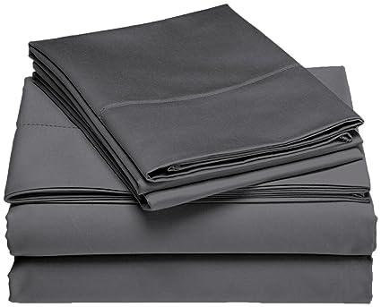 Amazon.com: Twin Extra Long 100% Cotton jersey Sheet Set   Soft