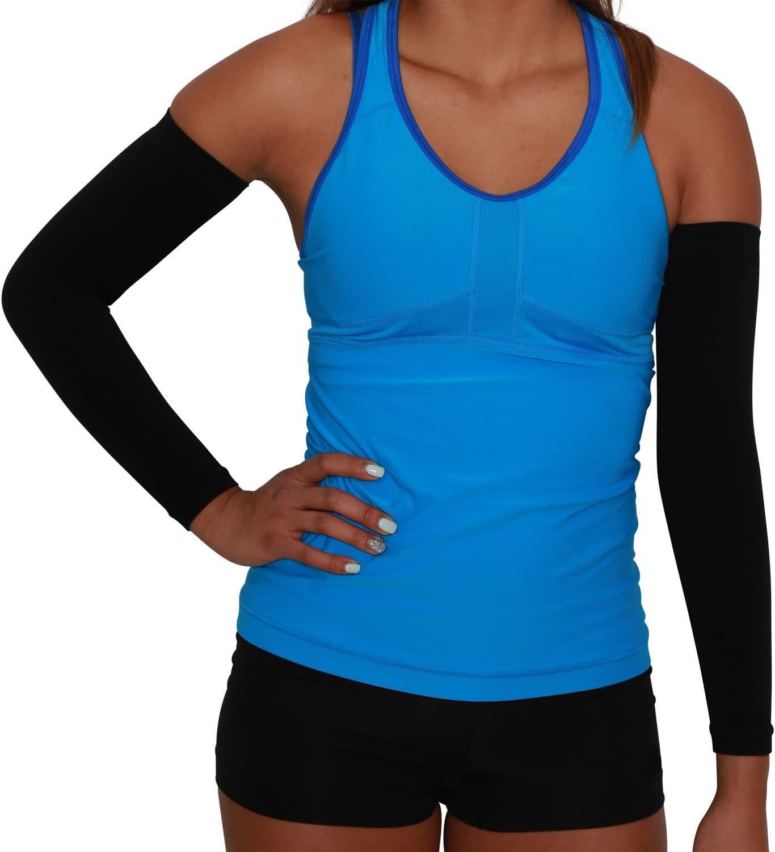 Amazon.com: Compresión Arm Sleeves – Golf Sun Protección UV ...