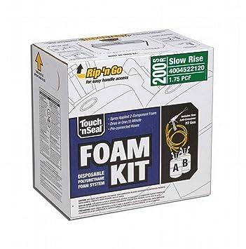Dap 7565022120 Touch n Seal lento Rise Kit de aislamiento de espuma de spray 200