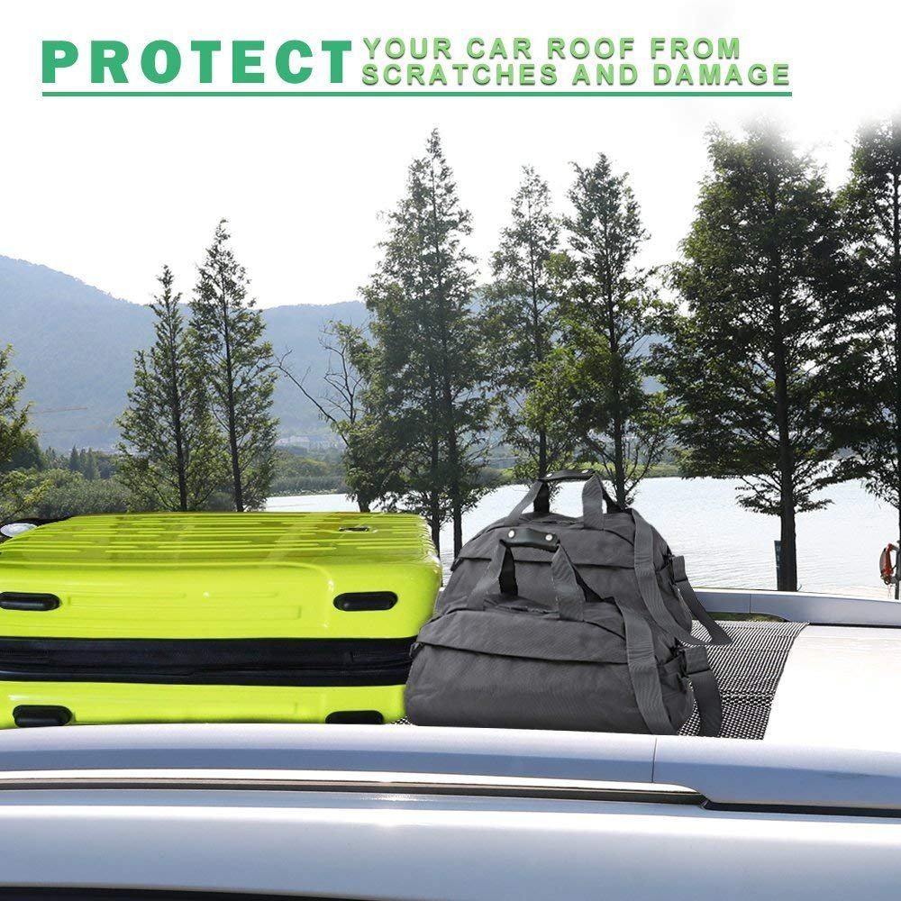 Egofine Car Roof Protective Mat Car Roof Carrier Bags Extra Padding Car Roof Mat Under Any Rooftop Cargo Bag by Egofine (Image #5)