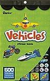 Darice 106-3238 Kids Sticker Book: 600 Vehicles, Car & Transportation Stickers Kids Sticker Book
