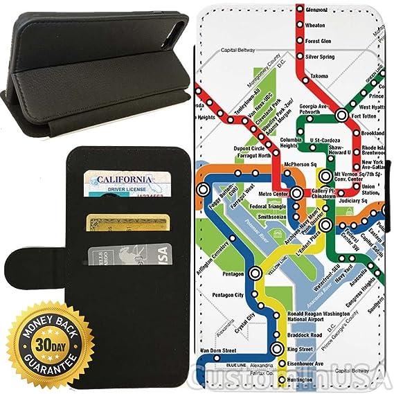 Amazoncom Flip Wallet Case For Iphone 7 Washington Dc