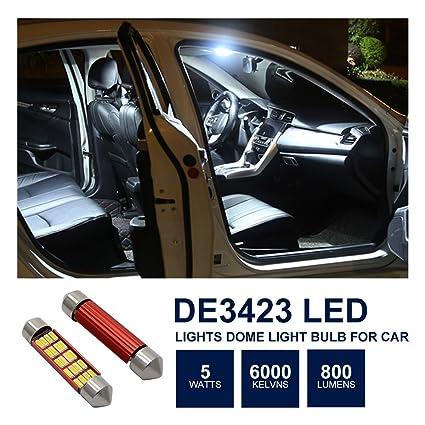 Bessie Sparks LED Interior Dome Light, Map Bulb DE3175 4014 Chipset 12V  20SMD Canbus Error