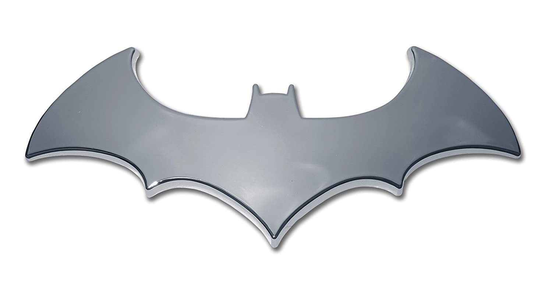 Amazon Batman 3d Bat Chrome Auto Emblem Automotive