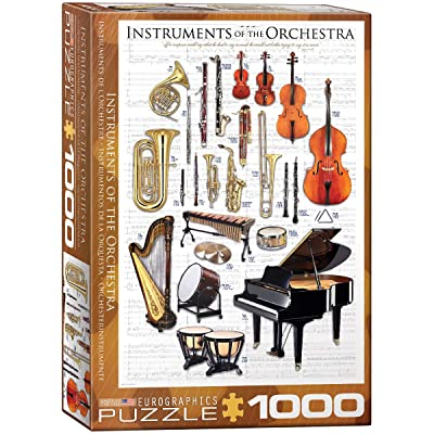 EuroGraphics Instruments of The Orchestra Puzzle (1000-Piece): Toys & Games [5Bkhe1404935]