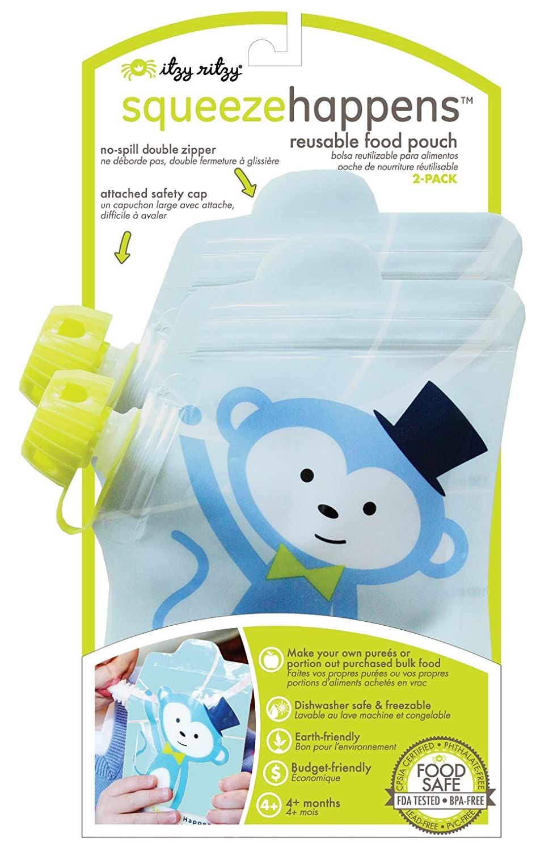 Amazon.com : Squeeze sucede reutilizables de comida bolsas ...