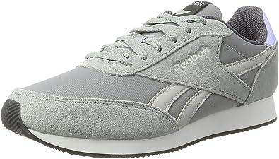 Reebok Bs7009, Zapatillas de Running para Mujer, Gris (HS-Flint Grey/Skul Gry/L.Glow/Ash Gry/WH), 35.5 EU: Amazon.es: Zapatos y complementos