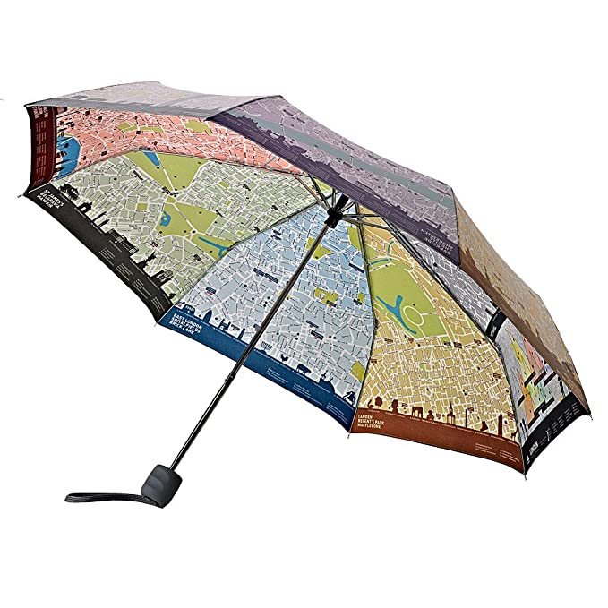 Fulton - Paraguas con mapa de londres