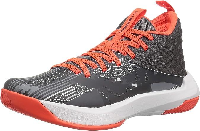 Under Armour Girls Pre-School UA Lightning 5 Basketball Shoes 1 Deceit