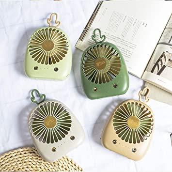Liuxina 夏用ファン USB Fan Small Mini Desk Portable Personal Table Handheld Fan with USB Rechargeable Battery Operated Electric Fan for Travel Office Outdoor Sport Household