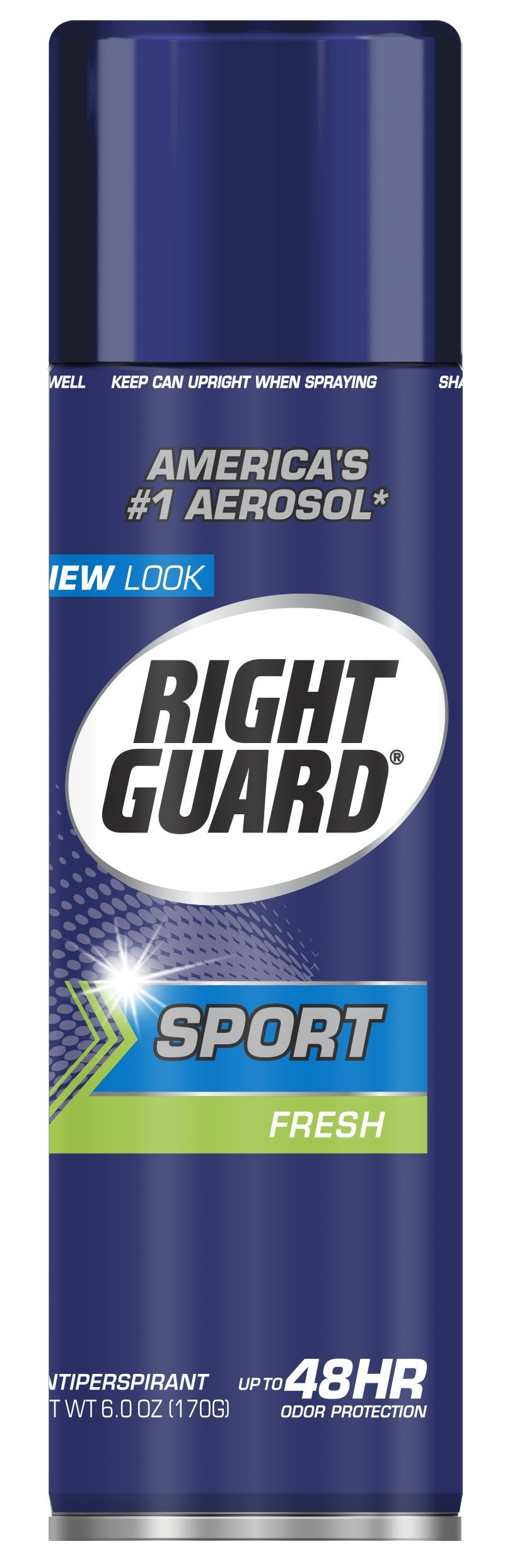 Dial 2093347 Right Guard Sport Fresh Aerosol Anti-Perspirant, 6oz Can (Pack of 12)