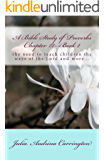 A Bible Study of Proverbs Chapter 22--Book 2