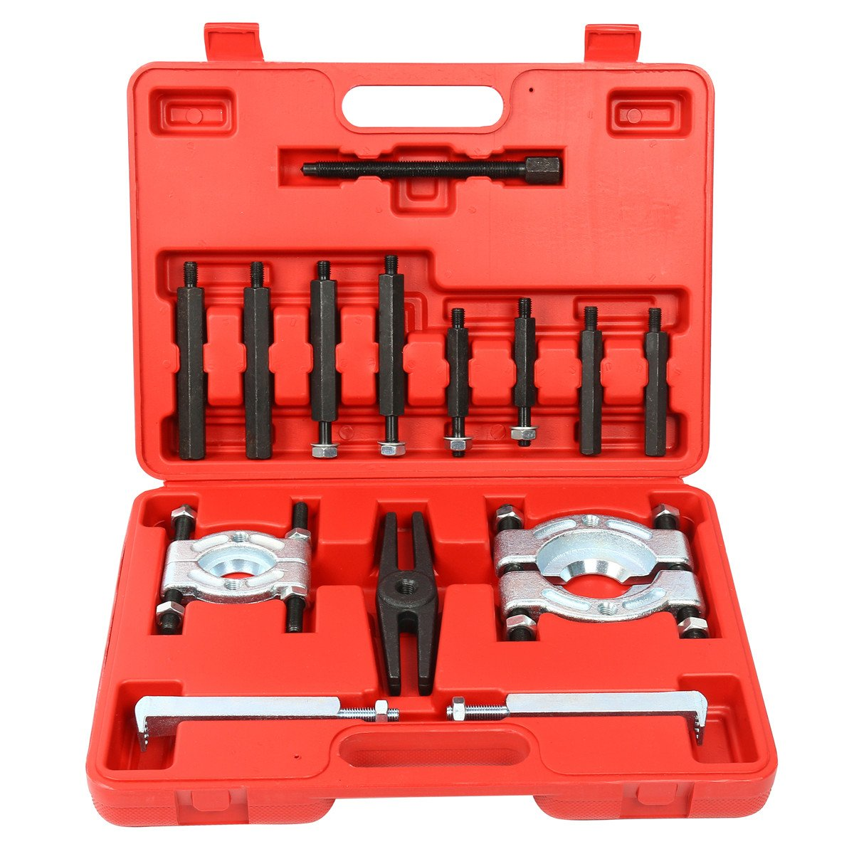 FreeTec Heavy Duty 14PCS Bearing Separator Puller Set 2' and 3' Splitters Remove Bearings Kit freebirdtrading FT0033