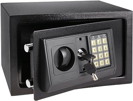 Electrónica Digital pequeño valor caja fuerte oculta para pared ...