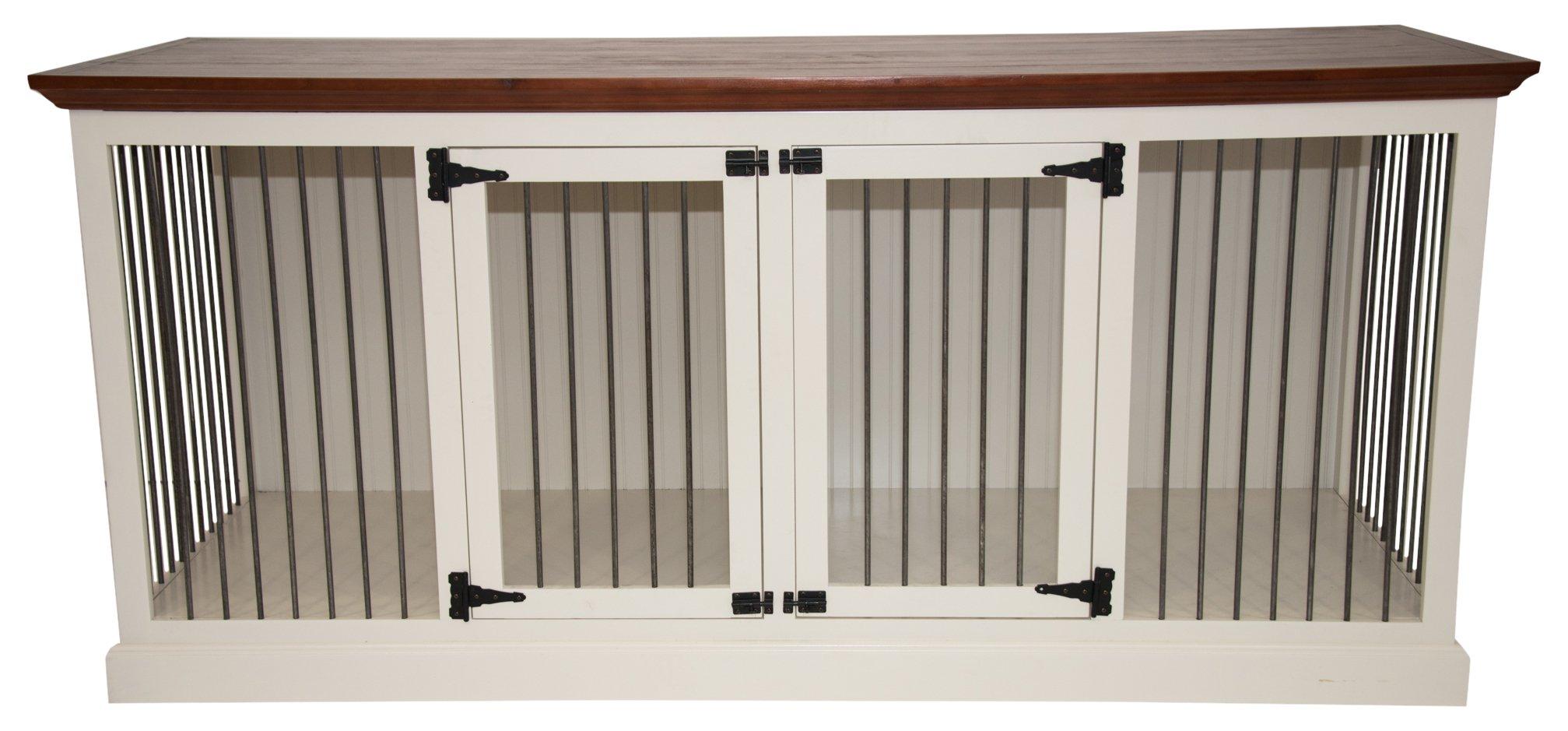 Eagle Furniture Manufacturing K9LD-403187-IVHG K9 Crate, European Ivory