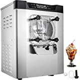 VEVOR Commercial Ice Cream Machine 1400W 20L/5.3Gal Per Hour Hard Serve Yogurt Maker with LED Display Perfect for Restaurants
