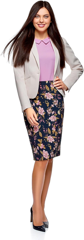 oodji Collection Womens Basic Pencil Skirt