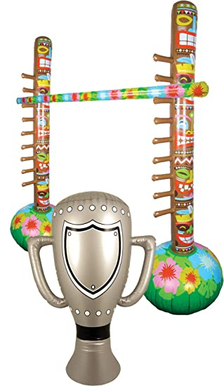 labreeze Hawaiian Inflable Limbo Tropical Bar Game & Champion ...
