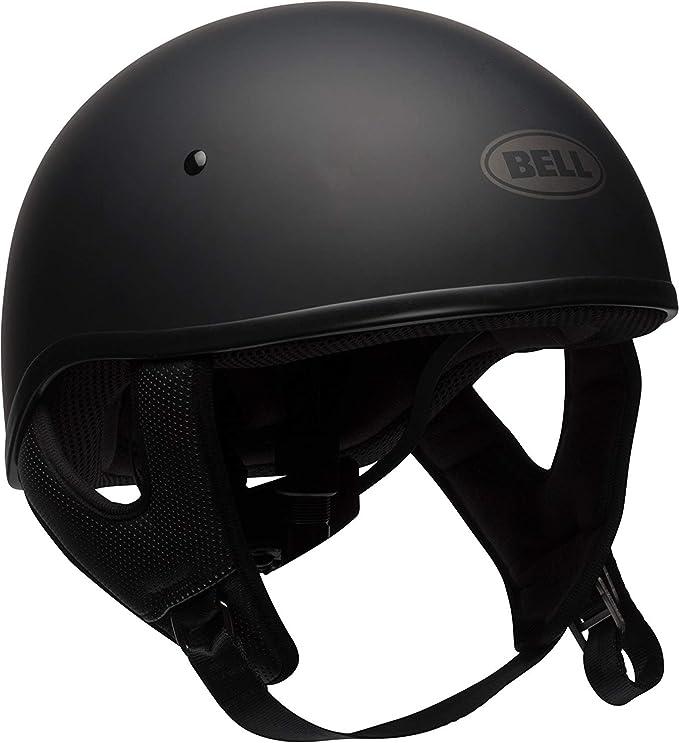 Bell Pit Boss Open-Face Motorcycle Helmet Roses Matte//Black Gunmetal, X-Small//Small