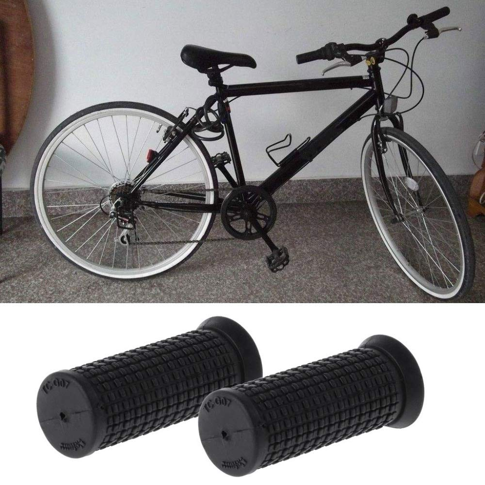 GGreenary 7CM 2pcs Bicycle Grips Short Handle Rubber Non Slip Cycling Scooter MTB Bike Parts