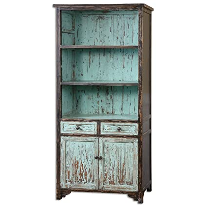 teal liliewoods front products turquoise white julian bookshelves bookshelf