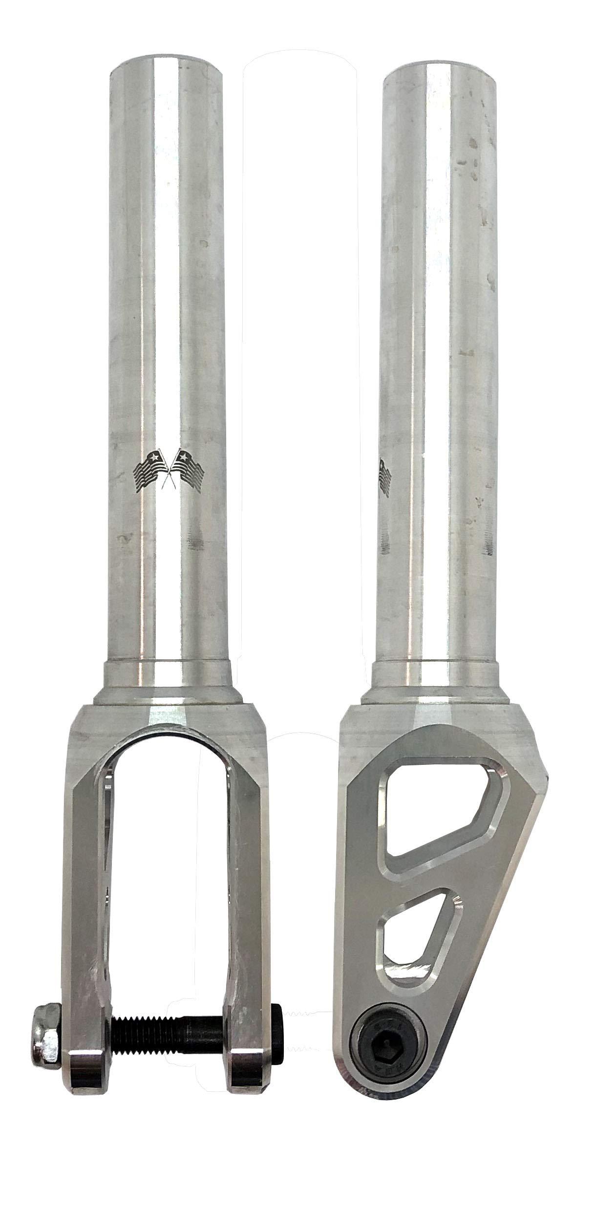 Mach 1 Liberty Threadless Aluminum Scooter Fork (Raw)
