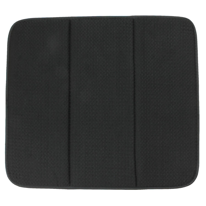 MACOSA SP1161 - Tappetino scolapiatti Moderno in Microfibra Colori ad Asciugatura Automatica. per Bicchieri e stoviglie, Microfibra, Borgogna, 41 x 46 x 0,5 cm MACOSA HOME