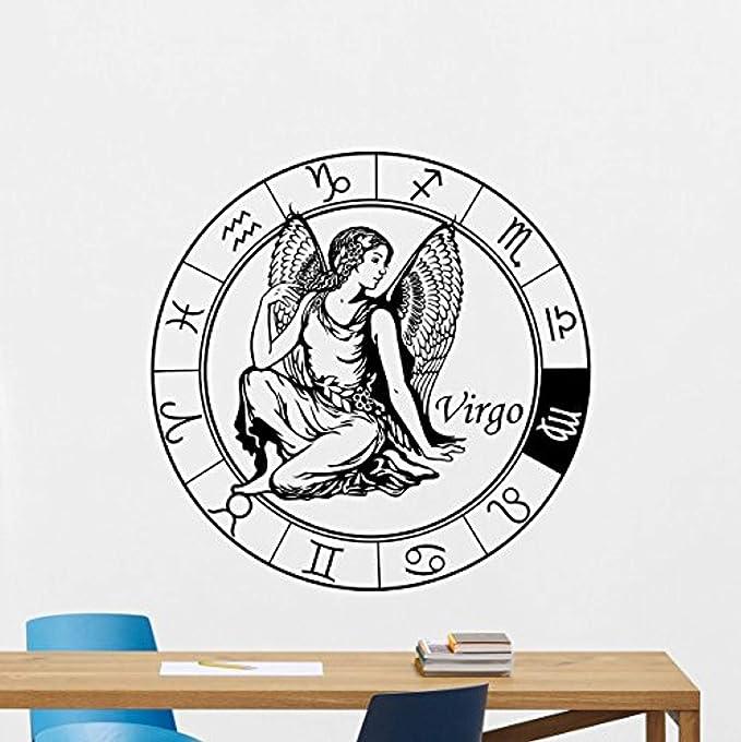 Virgo Zodiac Sticker Astrology Sticker Vintage style Virgo Illustration Vinyl Decal Virgo Decal