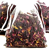 VANILLA LATTE 4 x Premium Bath Tea Sachets BONUS 12ml Booster Fragrance Oil