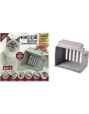 keddii Scoop 02227 XL Gato Pala dispersa | Pala Colador tamaño Adaptable (Gato Inodoro/