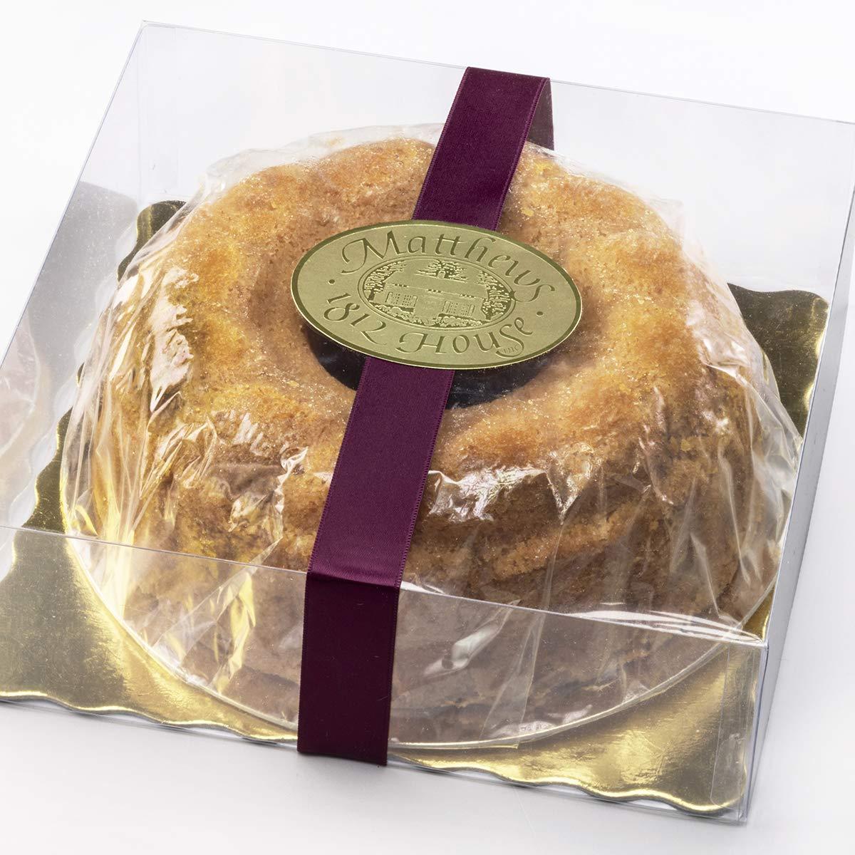 Matthews 1812 House Gourmet Marzipan Almond Pound Cake