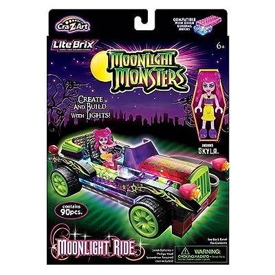 Cra-Z-Art Lite Brix Moonlight Monsters Moonlight Ride: Toys & Games