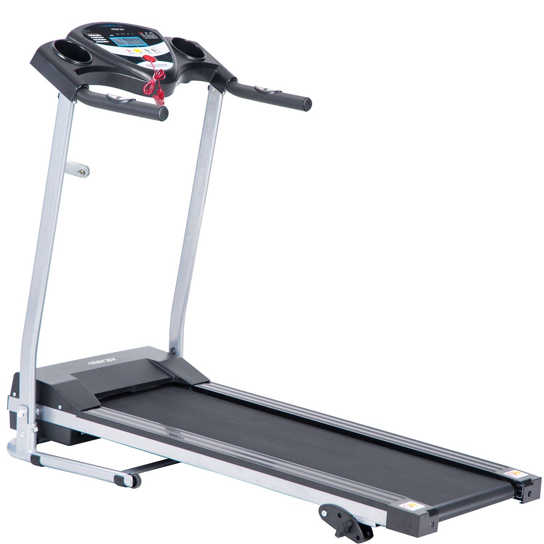 Merax MS020307BAA JK1603E Easy Assembly Folding Electric Treadmill Motorized Running Machine by Merax