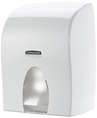 KIMBERLY-CLARK PROFESSIONAL* Dispensador de Toallas Secamanos Interplegadas - Blanco